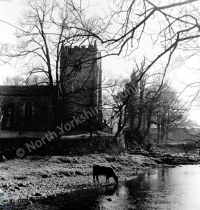 River Skirfare and Arncliffe Church